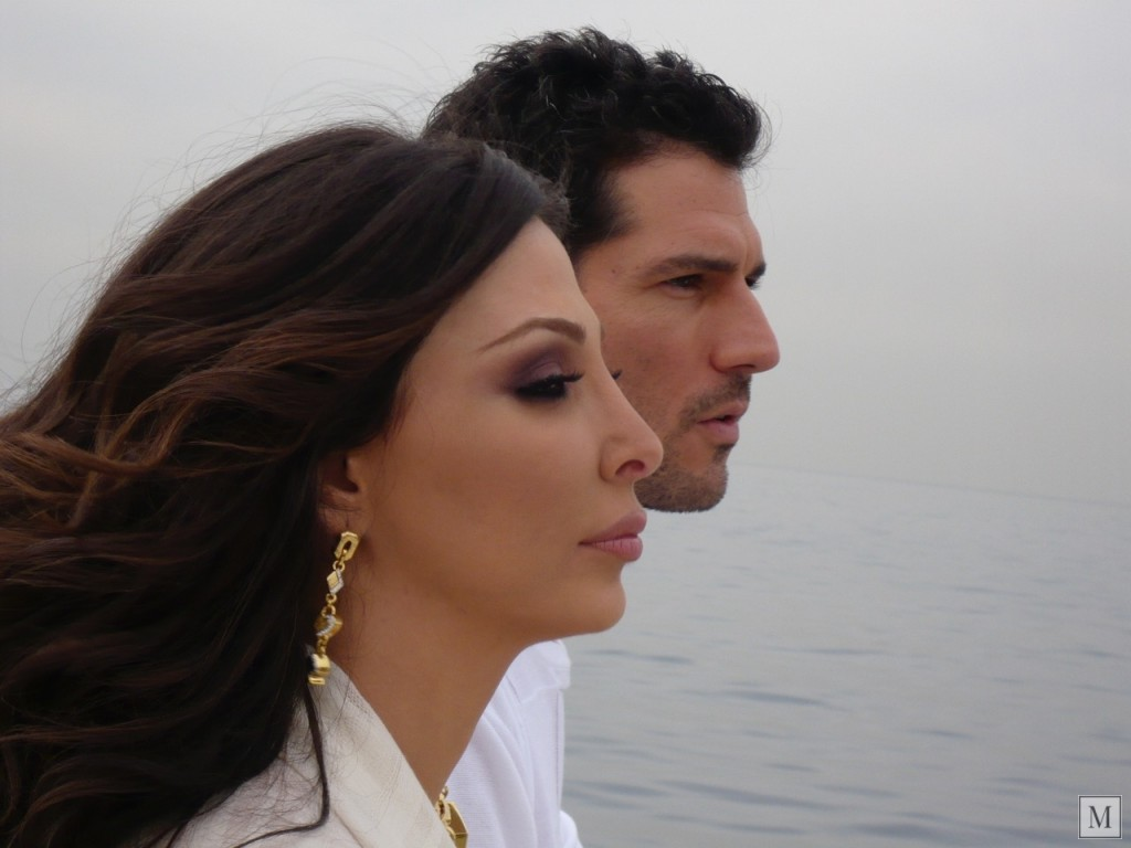 Roger Mazzeo and Elissa Khoury
