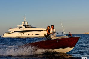 Amore mio: luxury and power in just one yacht